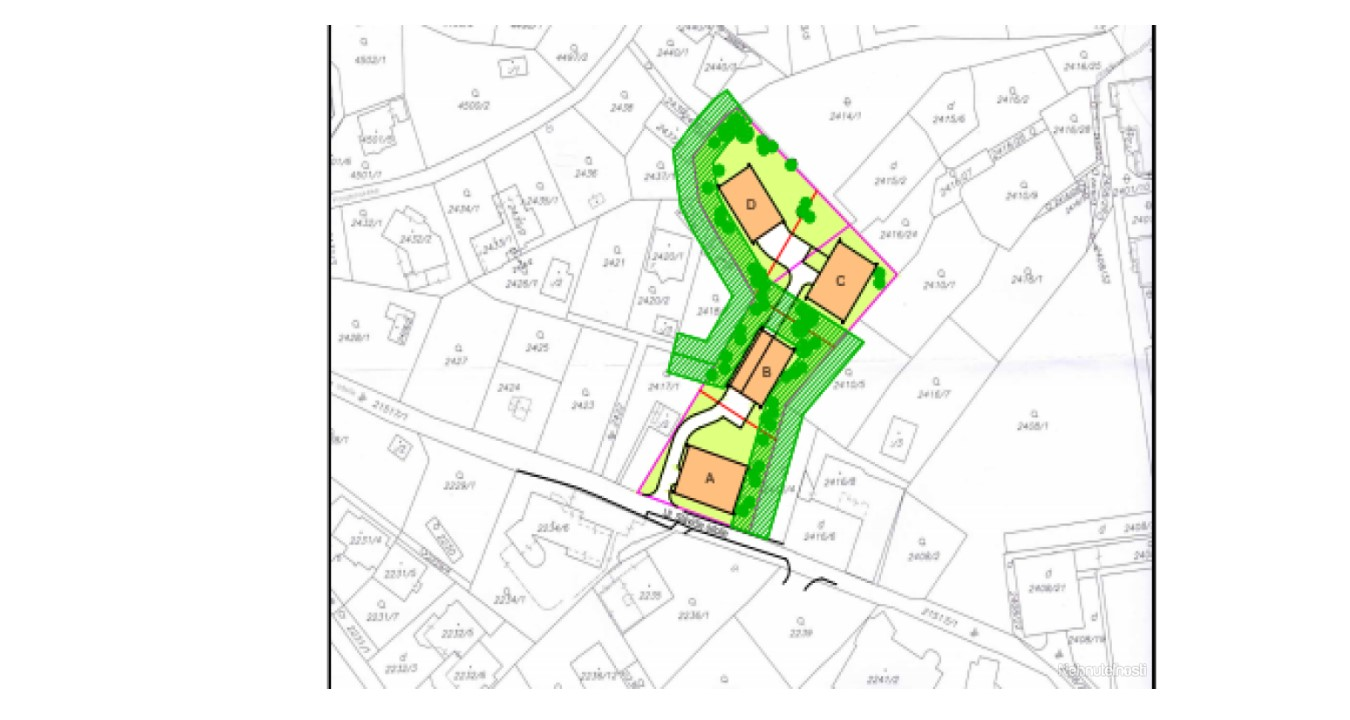 Продажа участка земли в историческом центре Братиславы, Словакия.