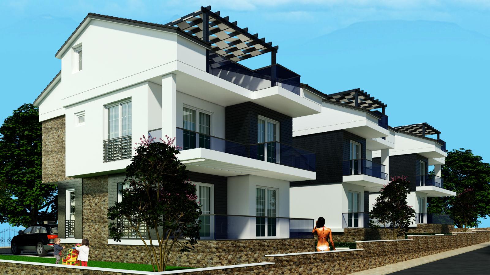 Продажа вилл в Турции, г.Дидим – комплекс BLUE BEACH VILLAS