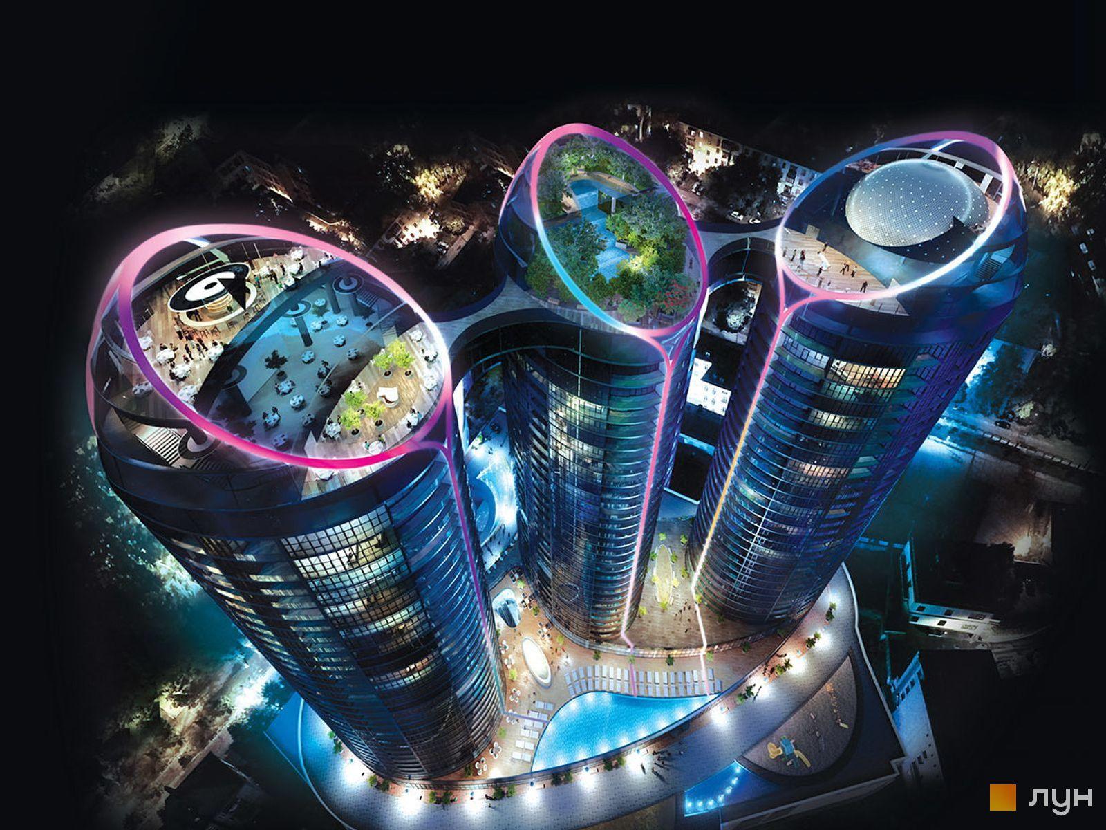 Элитное жилье в центре Киева! ЖК Taryan Towers.